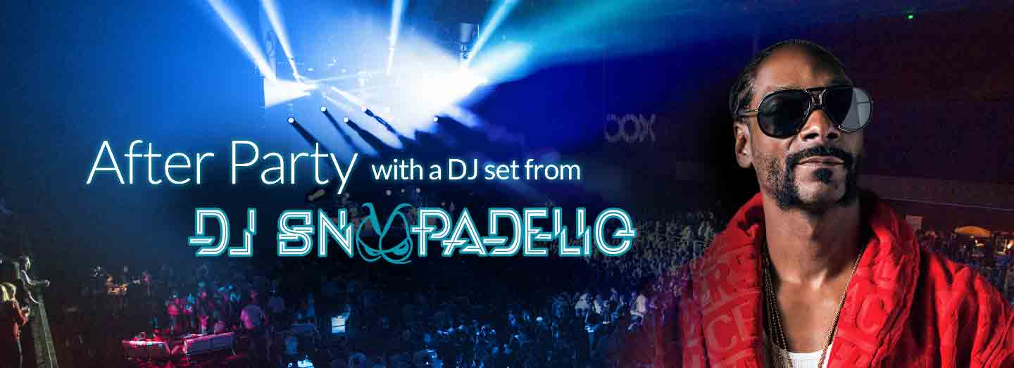 After Party with a DJ set from DJ Snoopadeliq