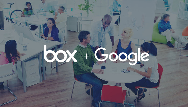 Box and Google