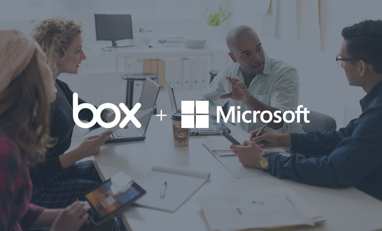 Box and Microsoft