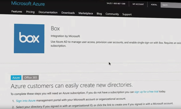 Box and Azure Active Directory