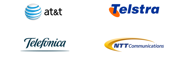 Box Channel Partners: ATT, Telstra, Telefonica, NTT Communications
