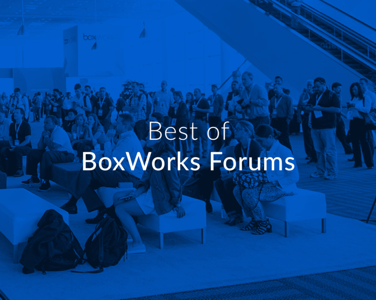 BoxWorks Forums