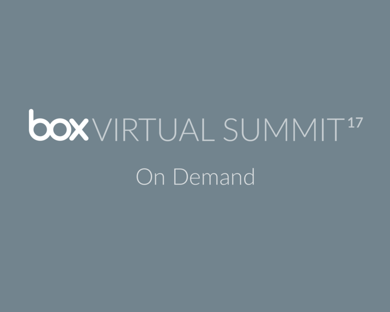 box virtual summit