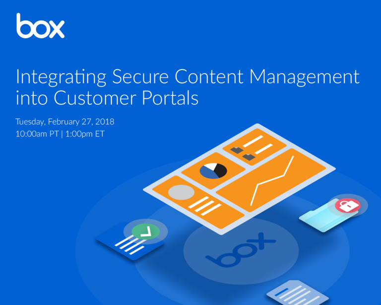 Simple, secure content management for your customer portals